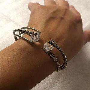 JUDITH JACK sterling silver bracelet